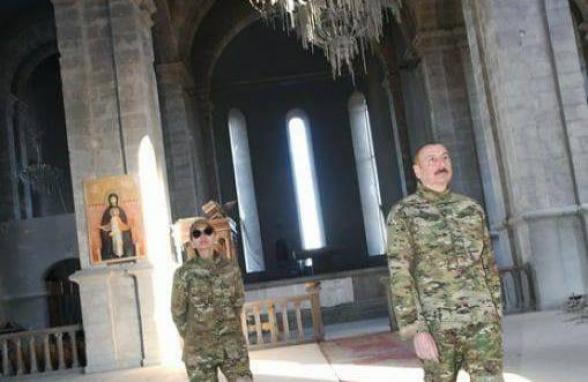Алиев вместе с Мехрибан отправились в оккупированный врагом Шуши (видео)