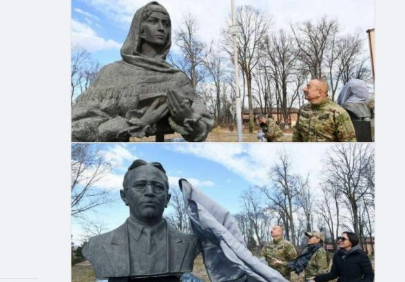 Այսպիսի քանդակները տևում են մոտ 3 ամիս կամ ավելի, ուստի ադրբեջանցիները գիտեին պատերազմի արդյունքը նոյեմբերի 9-ից շատ առաջ