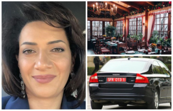 Աննա Հակոբյանը Մոսկվայում գաղտնի հանդիպել է մի կնոջ հետ, որը եղել է ադրբեջանական դիվանագիտական պետհամարանիշով մեքենայով․ Mediaport