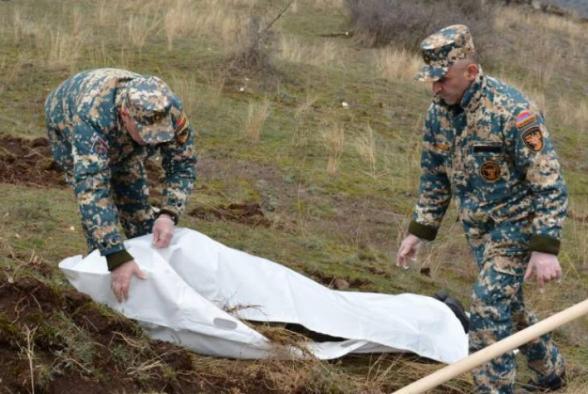 В районе Джабраила и Кубатлу обнаружены останки еще троих военнослужащих