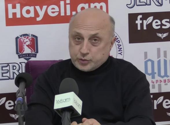 Тигран Экекян: «Кочарян – настолько сильная личность, что говорит: судите, посмотрим, виновен я или нет» (видео)