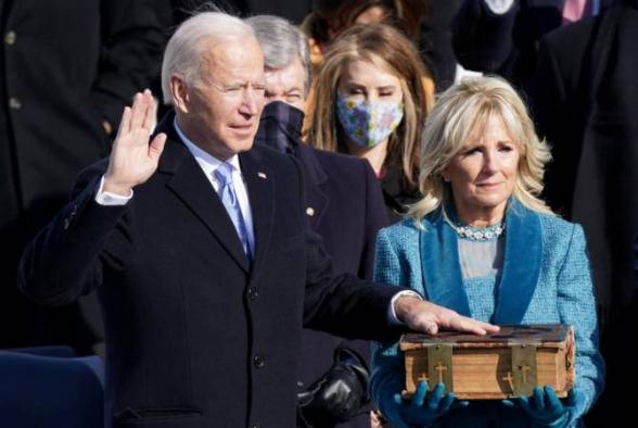 Джозеф Байден вступил в должность 46-го президента США (видео)