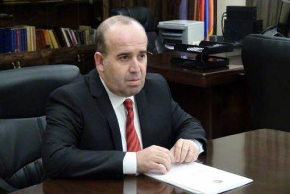 Тигран Петросян освобожден от должности губернатора Ширакского марза