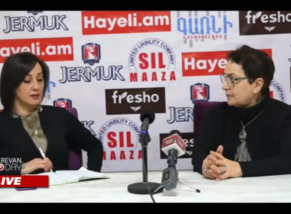 Пресс-конференция правозащитницы Ларисы Алавердян (видео)