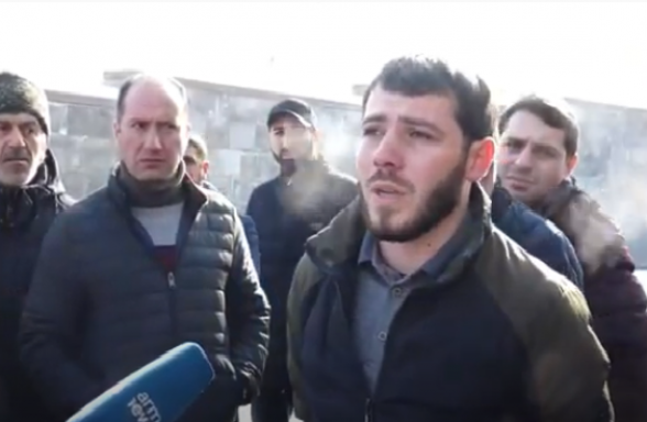 Պատերազմի մասնակիցները չեն ստացել աշխատավարձերը. ակցիա ՊՆ-ի դիմաց (տեսանյութ)
