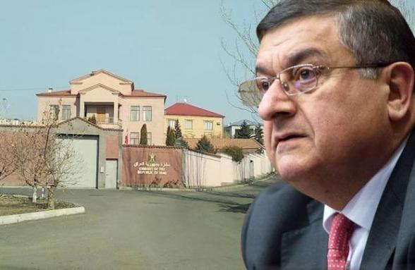 Իսկ Իրաքում տեղյա՞կ են, որ Հայաստանում իրենց դեսպանատունը գոմում է տեղակայված