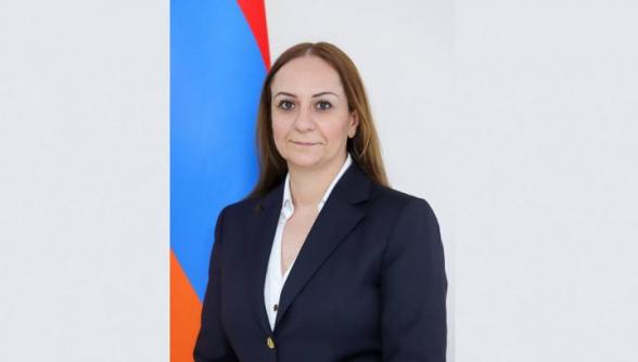 Արմելլա Շաքարյանը նշանակվել է Մեքսիկայում Հայաստանի դեսպան