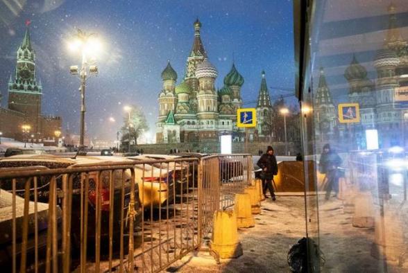 Մոսկվայում ամենացուրտ գիշերն է գրանցվել ձմռան սկզբից ի վեր