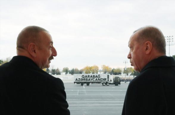 «Մենք մտադիր ենք Ադրբեջանում թուրքական բանակի փոքր մոդել ստեղծել»․ Ալիև