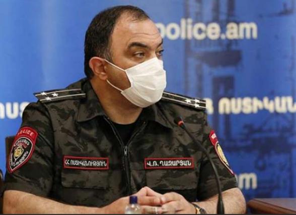 Ոստիկանապետ Վահե Ղազարյանը ազատման դիմում է գրել՝ չենթարկվելով Փաշինյանի ապօրինի հրահանգին