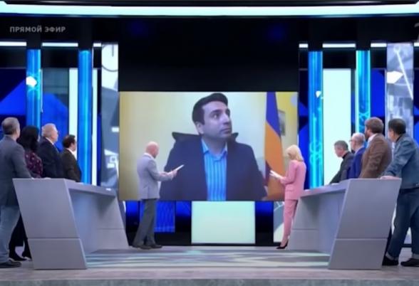 Журналист Первого канала России высмеял Алена Симоняна (видео)