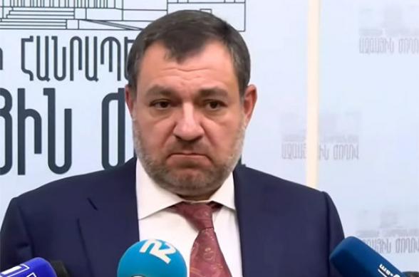 Я не намерен подавать в отставку – Рубен Вардазарян
