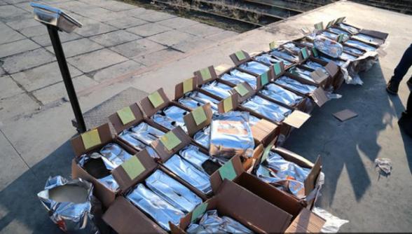 ՊԵԿ-ը շուրջ $45 մլն արժեքով հերոին է հայտնաբերվել խմորիչի փաթեթներում