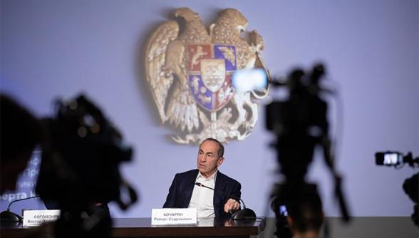 Роберт Кочарян дал пресс-конференцию ведущим российским СМИ (видео)