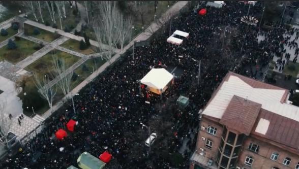Сегодня в 15:00 на проспекте Баграмяна состоится митинг Движения по спасению Родины (видео)