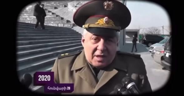 Էս մարդը, որ խոսում է ու ասում է, որ մենք հզոր ՀՕՊ ունենք և Ադրբեջանն ում շունն է, որ պատերազմ սկսի, այսօր ՀՀ պաշտպանության նախարարն է (տեսանյութ)