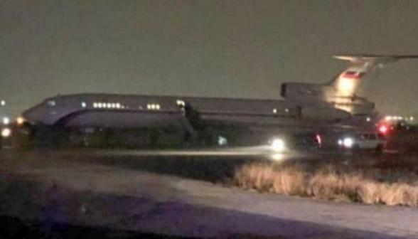 Кого вчера доставил из Баку в Ереван российский самолет? Правительство Армении не комментирует