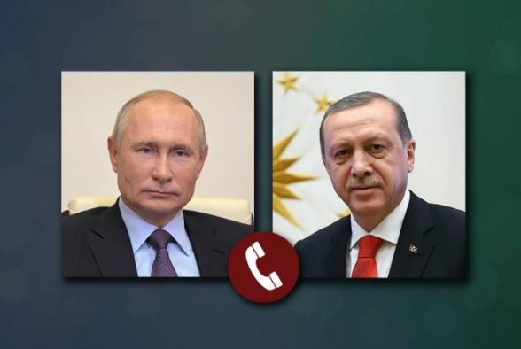 Путин и Эрдоган обсудили проблематику урегулирования в Нагорном Карабахе
