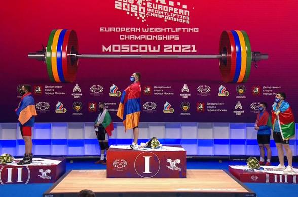 Самвел Гаспарян – чемпион Европы, Арсен Мартиросян – вице-чемпион