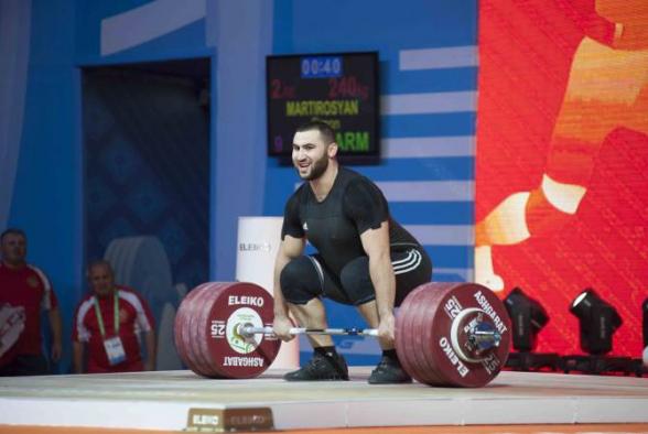 Սիմոն Մարտիրոսյանը Եվրոպայի առաջնությունում նվաճեց փոքր ոսկե մեդալ