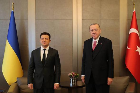 Էրդողանը Զելենսկիի հետ հանդիպմանը վերահաստատել է Թուրքիայի դիրքորոշումը «Ղրիմի բռնակցումը» չճանաչելու հարցում