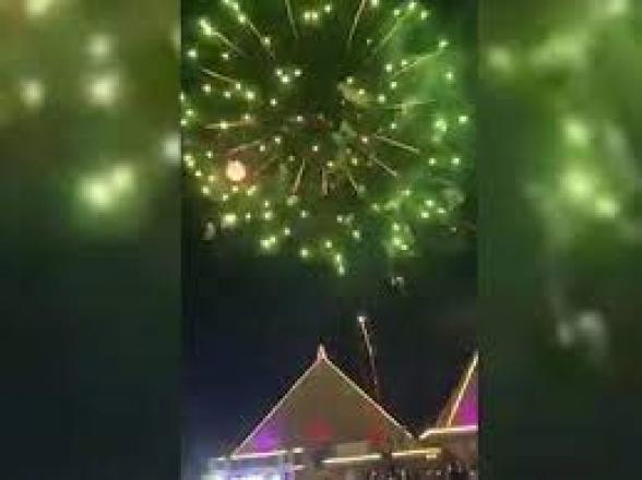 Гагика Царукяна оштрафовали за ночной фейерверк на свадьбе сына