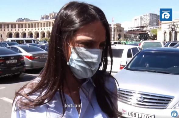 Ես մեկնաբանություն չունեմ․ Մանե Գևորգյանը՝ գերիների վերադարձի տեղեկության կեղծ լինելու մասին (տեսանյութ)