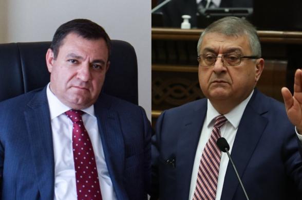 Полномочия председателя ВСС Рубена Вардазаряна приостановлены: его обязанности будет выполнять Гагик Джангирян