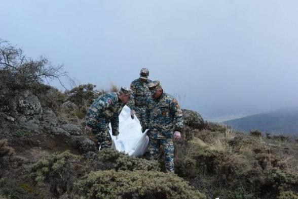 В районе Варанды обнаружено тело еще одного армянского военнослужащего