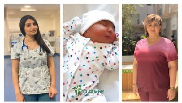 «Շենգավիթ» ԲԿ-ում 5 կգ քաշով աղջիկ երեխա է ծնվել