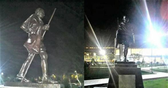 Աջափնյակում գաղտագողի կանգնեցվել է քեմալի դաշնակից, Հայոց ցեղասպանությունը ողջունող Մահաթմա Գանդիի արձանը
