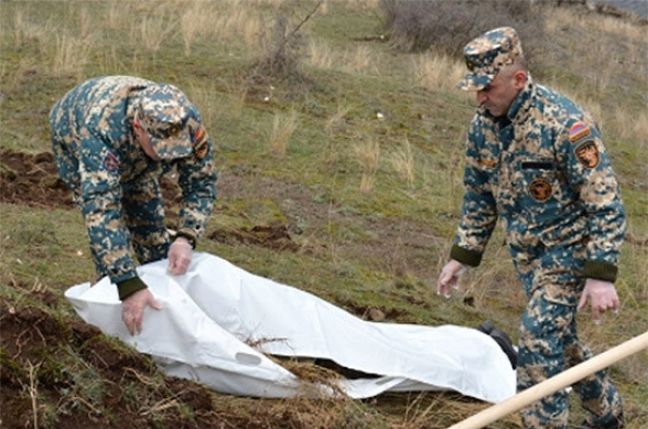 В Арцахе обнаружены тела еще двух армянских военнослужащих