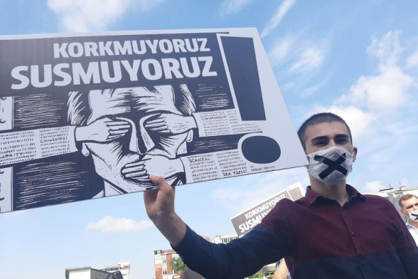 Թուրքիան 180 երկրների շարքում մամուլի ազատության ցուցանիշով 153-րդն է