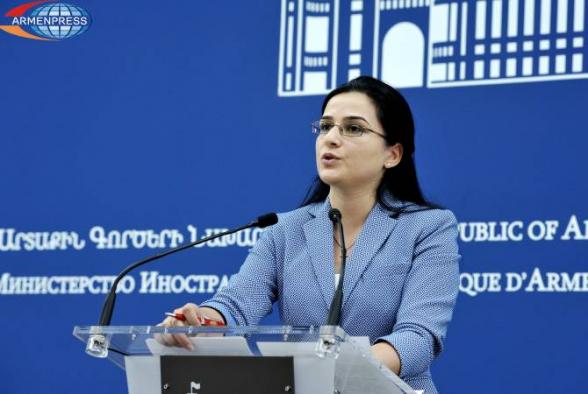 Դատապարտում ենք Հայաստանի տարածքային ամբողջականության դեմ Ադրբեջանի նախագահի նկրտումները. ԱԳՆ
