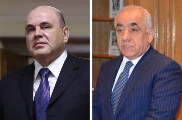 Мишустин обсудил с азербайджанским коллегой перспективы совместных проектов