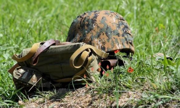 Погиб армянский солдат-срочник