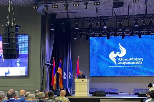 Партия «Возрождающаяся Армения» примет участие во внеочередных парламентских выборах