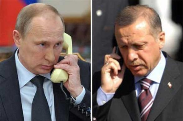 Путин и Эрдоган обсудили вопросы региональной проблематики