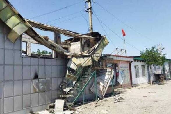 В Киргизии более 200 объектов были разрушены в ходе конфликта на границе