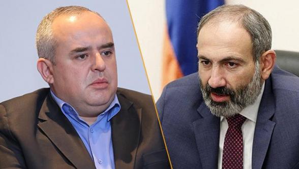 Тигран Атанесян подал в суд на Никола Пашиняна