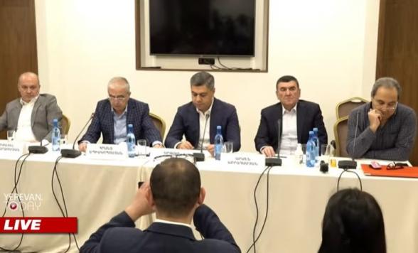 Пресс-конференция ОО «Союз офицеров запаса СНБ» (прямой эфир)