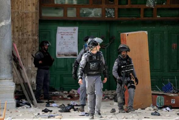 Число раненых в стычках с полицией палестинцев превысило 610