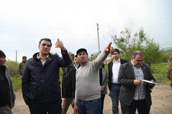 Կութ գյուղն ու դպրոցը հայտնվել են ադրբեջանական զինծառայողների նշանառության տակ. Արման Թաթոյան