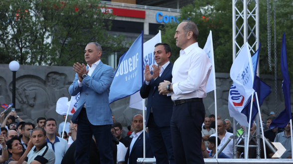 «Հայաստան» դաշինքը հունիսի 11-ին` ժամը 19։00-ին, Էրեբունի վարչական շրջանում հանդիպում կունենա քաղաքացիների հետ (տեսանյութ)