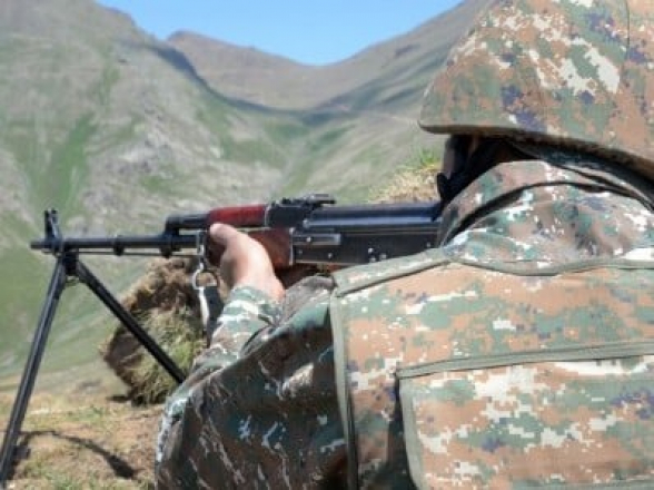 Թշնամին Գեղարքունիքի մարզում մոտ 30 րոպե կրակոցներ է արձակել
