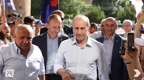 «Հայաստան» դաշինքի հանդիպումը Արարատում (տեսանյութ, լուսանկար)