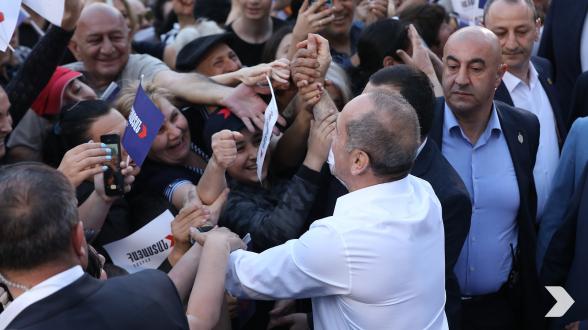 Лучшие моменты 6-го и 7-го дней предвыборной кампании блока «Армения» в марзах Лори и Тавуш