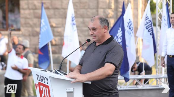 Мэр Шуши присоединился к блоку «Армения» (видео)