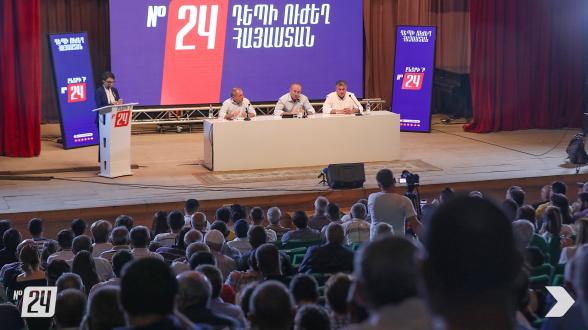 «Հայաստան» դաշինքի հանդիպումը Մարալիկում (տեսանյութ, լուսանկար)