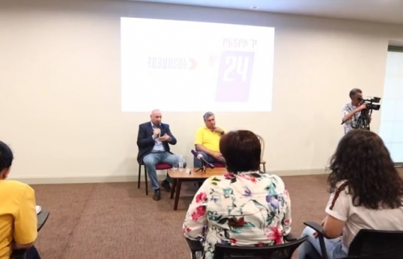 Встреча Андраника Теваняна в Гюмри (видео)